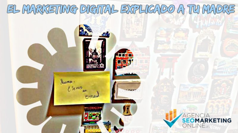 Marketing digital vs Post-it en nevera